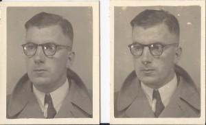 R.R. Pel, vermomd, 1943 of 1944 (collectie R.R. Pel)