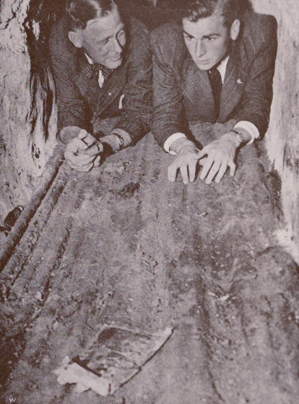 Jaap Boll en Remmert Aten (1945)